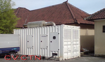Rental Genset Silent & Open